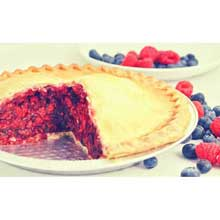 Foxtail Foods Gourmet No Sugar Added Wildberry Pie 49 Ounce