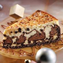 Sweet Street Marble Chocolate Chip Hand Fired Brulee Cheesecakes 14 Slice