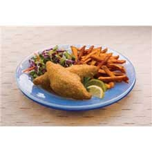 King and Prince Mrs.Fridays Beer Battered Cod Fish Fillet - 2 to 3 Ounce 10 Pound