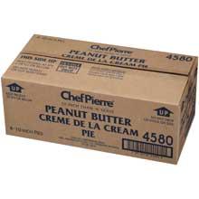 Chef Pierre Peanut Butter Creme de la Cream Pie 10 inch