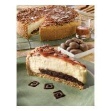 Alden Merrell Desserts Gourmet Turtle Cheesecake 96 Ounce