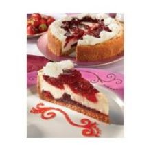 Alden Merrell Desserts Symphony Strawberry Cheesecake 96 Ounce