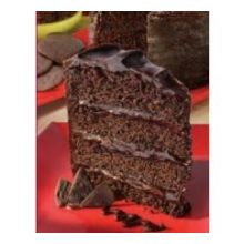 Alden Merrell Desserts 4 Layer Chocolate Temptation Cake 84 Ounce