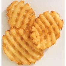 McCain Ultimate Cross Trax Waffle Cut Potato Fry 4.5 Pound