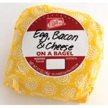 Deli Express Egg and Cheese Bagel