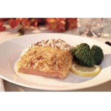Trident Seafoods Stuffed Alaskan Salmon Buffet Fillet Portion - 36 of 4.4 Ounce Pieces 10 Pound