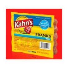 Kahns Beef Frank 12 Pound