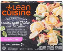 Nestle Stouffers Lean Cuisine Cafe Classics Chicken with Basil Cream Sauce - Entree 8.5 Ounce
