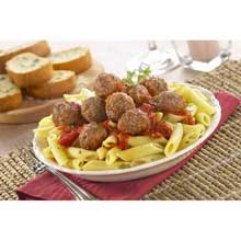 Bella Pork and Beef Meatball 1/2 Ounce
