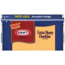 Natural Extra Sharp Cheddar Chunk Cheese 16 Ounce