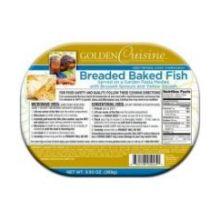 Breaded Baked Fish Entree