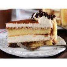 Alden Merrell Desserts Round Tiramisu Torte 10 inch