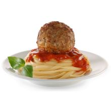 Cooked Perfect Italian Style Meatball