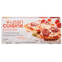 Nestle Stouffers Lean Cuisine Casual Eating Pepperoni French Bread Pizza 5.25 Ounce