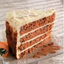 Sweet Street The Big Line Four Layer High Carrot Cake 14 Slice