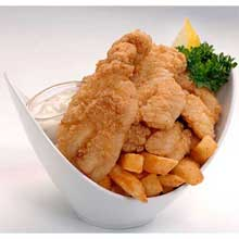 Tampa Maid Diptn Dusted Breaded Grouper Tender 2 Pound