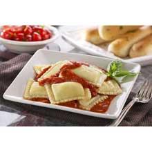 Jumbo Square Cheese Ravioli Pasta 5 Pound