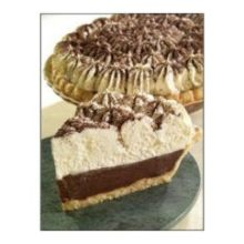 Foxtail Foods No Sugar Added Chocolate Cream and Meringue Pie 44 Ounce