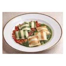 Precooked Striped Ravioli Pasta