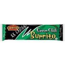 Ruiz El Monterey Green Chili Beef and Bean Burrito 10 Ounce