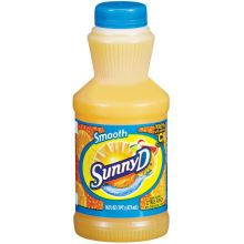 Sunny Delight California Style Orange Smooth Citrus Punch Juice 16 Ounce
