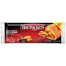 Nestle Hot Pockets Beef and Cheddar Stuffed Sandwich 8 Ounce