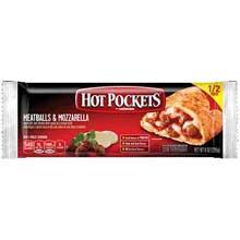 Nestle Hot Pockets Meatballs and Mozzarella Stuffed Sandwich 8 Ounce