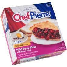 Chef Pierre Flavor Fusion Wild Berry Blast with Lemon Crust Pie 10 inch