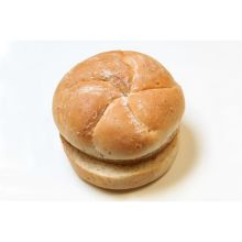 Rotellas Wheat Panna Kaiser Hamburger Bun 4 inch Diameter 8 per pack