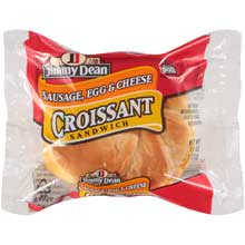 Sausage Egg and Cheese Croissant Sandwiches 4.5 Ounce