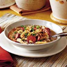 Taste Traditions Chicken Sausage Gumbo - 8 lb. package