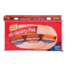 Oscar Mayer Louis Rich Ham and Turkey - Lunch Meat - Variety Pack 9 Ounce