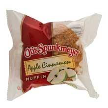 Otis Spunkmeyer Delicious Essentials Apple Cinnamon Muffin 4 Ounce