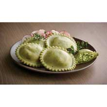 Windsor Bernardi Spinach and Gorgonzola Jumbo Round Ravioli 5 Pound