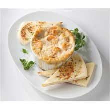 King and Prince Shrimp and Crab in Parmesan Dip 6 Ounce