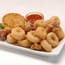 how to cook calamari rings from frozen