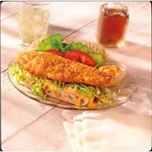 King and Prince Mrs.Fridays Beer Battered Tilapia 2.5 Pound