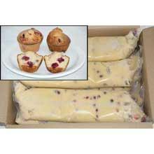 General Mills Pillsbury Tubeset Cranberry Orange Muffin Batter 3 Pound