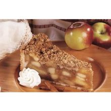Love and Quiches Decadent Crumby Apple PieDessert 10 inch