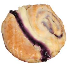 Blueberry Cheese Butterfly Danish 4.75 Ounce