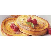Michael Foods Papettis Cinnamon Swirl French Toast 2.5 Ounce