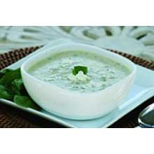 Spinach and Feta Cheese Soup