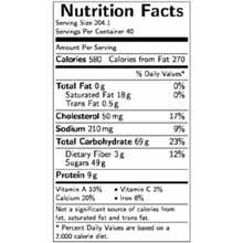 Jon Donaire Ice Cream Cake Nutrition