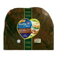 Armour Eckrich Healthy Ones Whole Muscle Medium Roast Beef 6.25 Pound