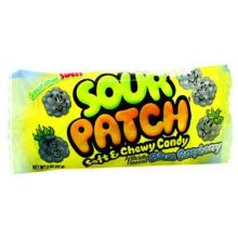 Sour Patch Blue Raspberry Soft and Chewy Candy