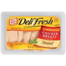 Oscar Mayer Deli Fresh Barbecue - Lunch Meat 9 Ounce