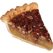 Chef Pierre Pre Sliced Pecan Pie 8 inch Slice