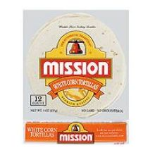 Mission Foods White Corn Tortilla 6 inch