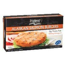 Trident Seafoods Alaskan Salmon Burger 11.2 Ounce