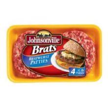 Johnsonville Bratwurst Patty 16 Ounce